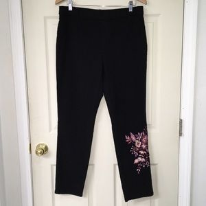 Style & Co from Macy's black pull on crop pants